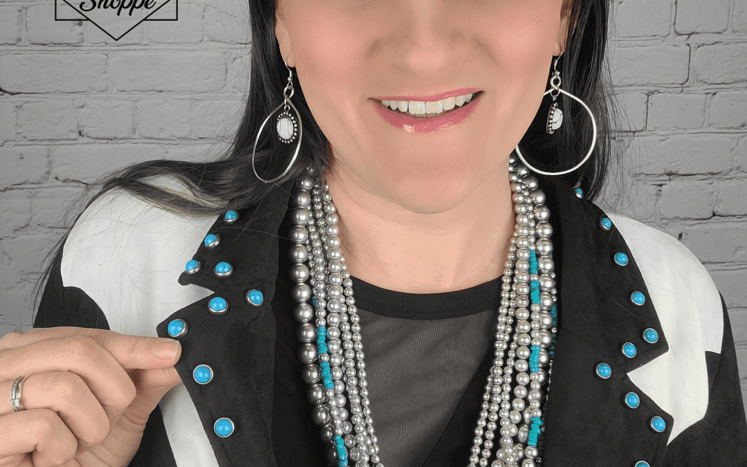 Review: The BRAZOS BEND MULTISTRAND NECKLACE TURQUOISE from Crazy Train Clothing!