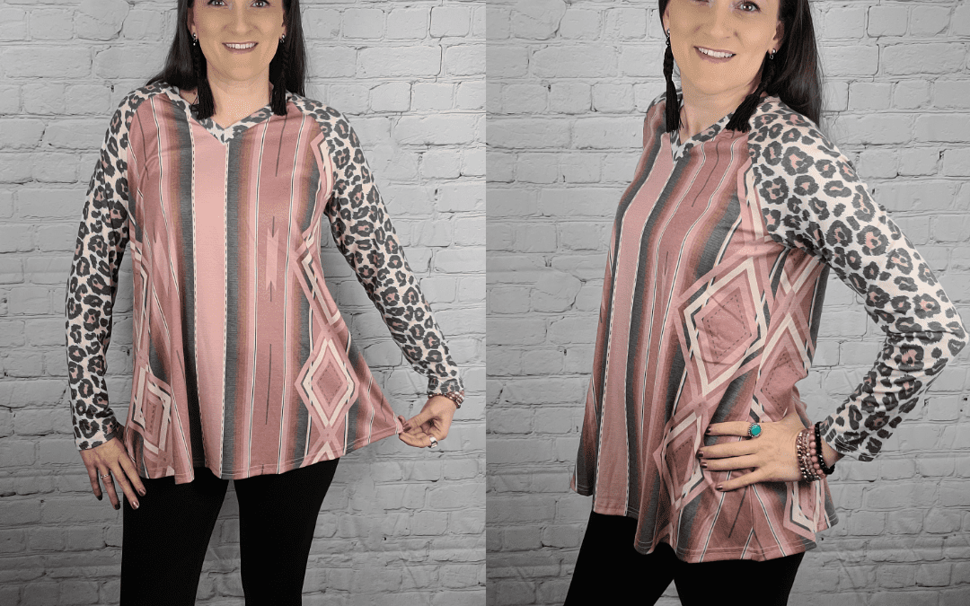 Review: The LONG LIVE SERAPE Top from Crazy Train Clothing!